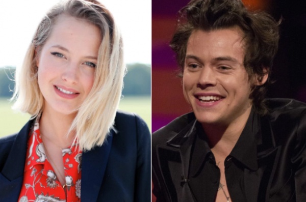 Harry Styles dan Tess Ward (dok Page Six)
