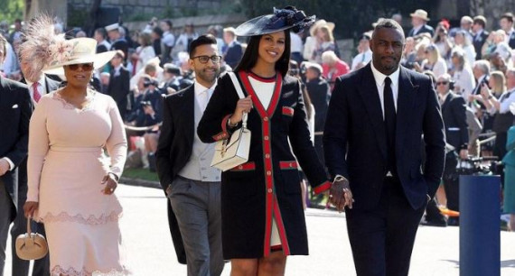 Idris Elba turut hadir di Royal Wedding Pangeran Harry dan Meghan Markle (dok. Al Arabiya)