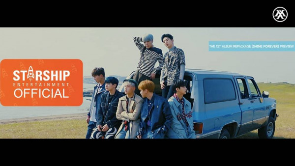 MONSTA X rilis MV Shine Forever (dok. YouTube)