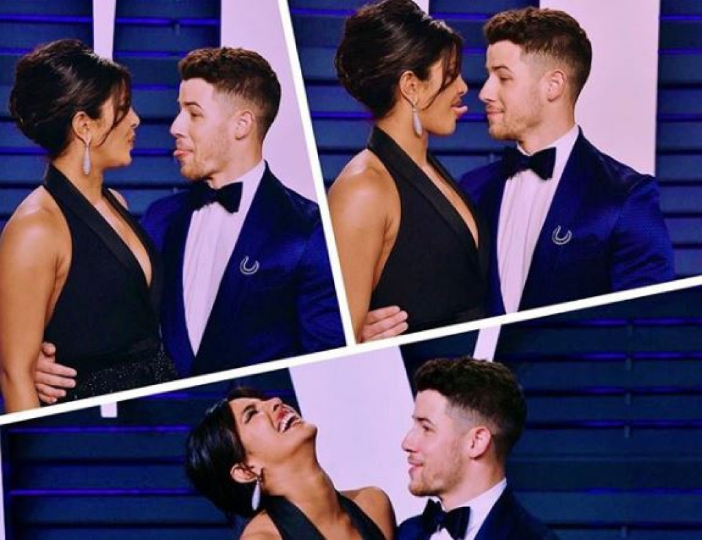 Priyanka Chopra dan Nick Jonas di after party Oscars 2019 (dok. Instagram)
